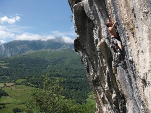 Roca Verde is a guide to the climbing in 'green Spain'...can you see why?