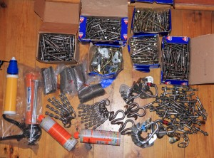 More bolts bought with the Roca Verde bolt fund...
