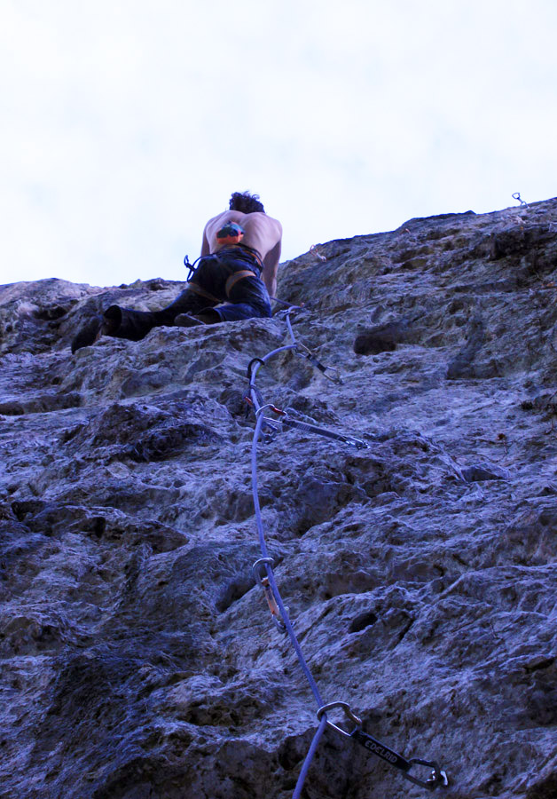 Ignacio Mulero on the 9a