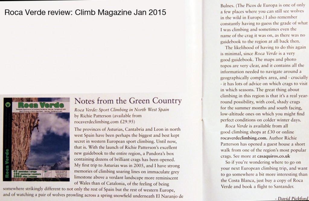 Climb Magazine Jan 2015