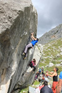 Ignacio Mulero on the 8b