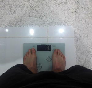 6 kilos to go from there...