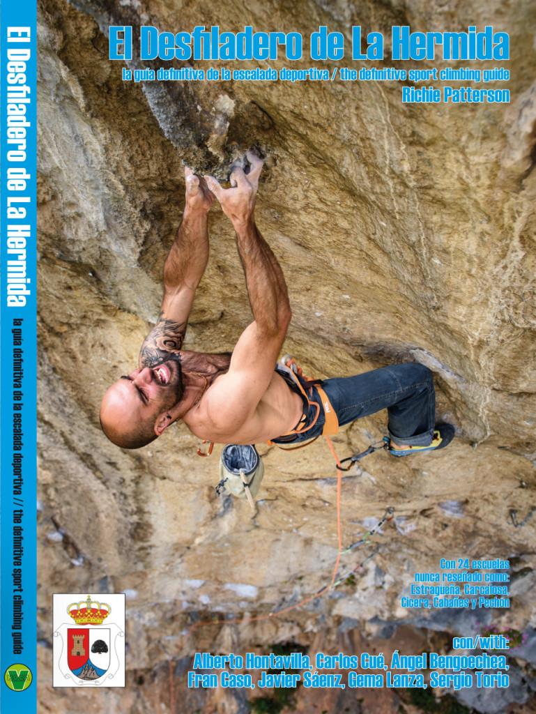 La portada del libro con tiene Alberto Hontavilla en su proyecto de Urdón. F. José Alberto Puente